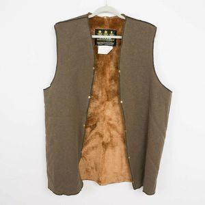 Barbour A295 Pile Lining Vest Faux Fur